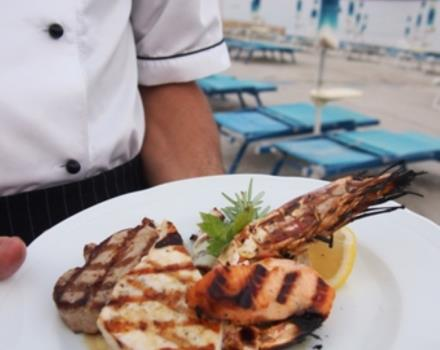 Grilled fish - restaurant Velazzurra