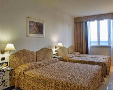 Family room. Book your accommodation in Spotorno at the Best Western Hotel Acqua Novella-4 stars